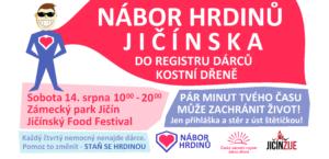 Jičín | nábor dárců kostní dřeně na Food festivalu!